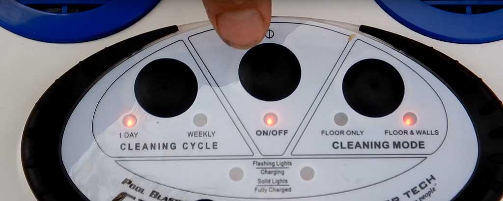 Wichtige Funktionen bei einem kabellosen Akku-Poolroboter